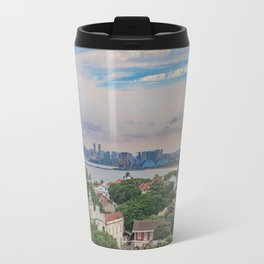Aerial View of Olinda and Recife, Pernambuco Brazil Travel Mug