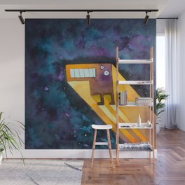 Tetris Monster Zooming Wall Mural
