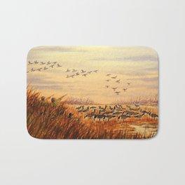 Goose Hunting Companions Bath Mat