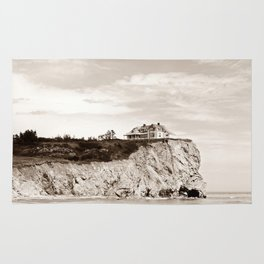 Big House on the Cliff Rug