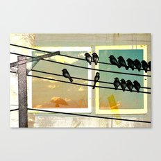A New Part Of Town Canvas Print