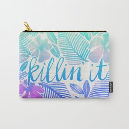 Killin' It – Turquoise + Lavender Ombré Carry-All Pouch
