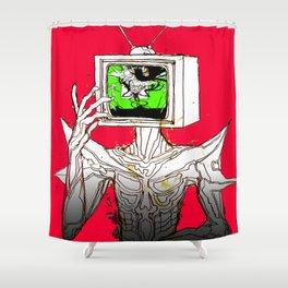TV HEAD Shower Curtain