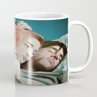 eternal sunshine of the spotless mind Mugs featuring Eternally Your Sunshine by Danette