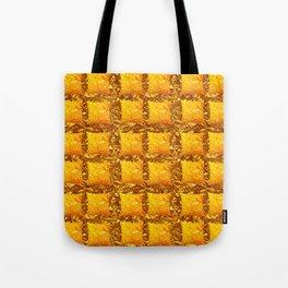 GOLDEN PILLOW TILES ON HONEY GOLD ART Tote Bag