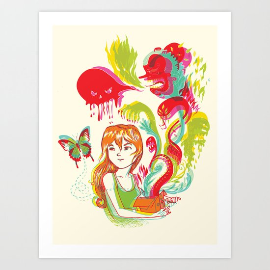 Pop Goes Disaster! Art Print