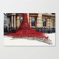 Poppies - City of Culture 2017, Hull Canvas Print