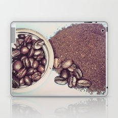 Coffee Beans and Coffee Ground Laptop & iPad Skin