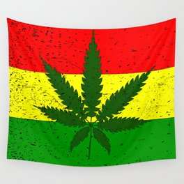 Rastafarian Flag Wall Tapestry