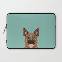Skylar - German Shepherd gifts for dog people dog lover gifts german shepherd owners perfect gifts Laptop Sleeve