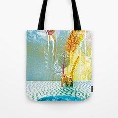 Salatarian EYELAND Lagoon Tote Bag