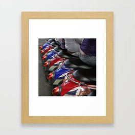 Scooters Framed Art Print