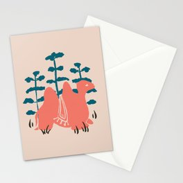 Mongolian Camel Stationery Cards