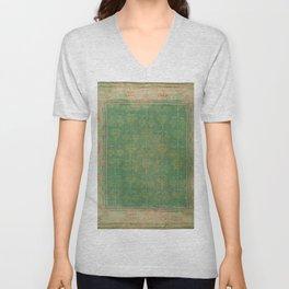 Vintage pattern Unisex V-Neck