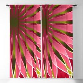 Pretty in pink mandala Blackout Curtain