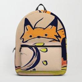Fox in woods Backpack