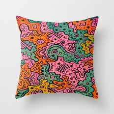 Totally Abstract Throw Pillow