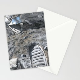 Footprints Stationery Cards