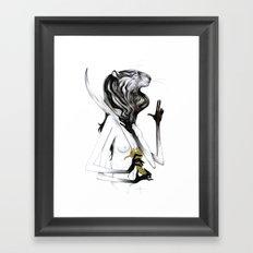 A Forest's Guardian 2 Framed Art Print