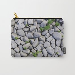 Smooth Stone Dry River Bed Carry-All Pouch