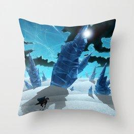 Forgotten Desert Throw Pillow