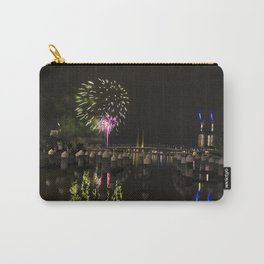 Fireworks at Docklands, Australia Carry-All Pouch