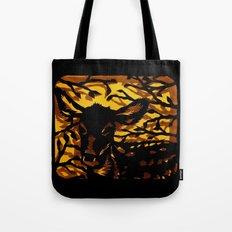 Sleeping Fawn Papercut Tote Bag