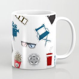 Cinema movie pattern Coffee Mug