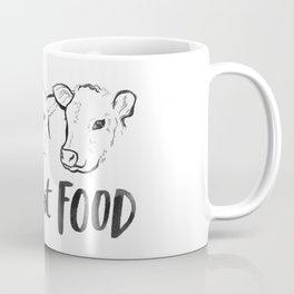 Pals Not Food Illustration by Laura Tubb Coffee Mug