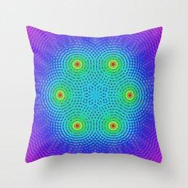 six Throw Pillow