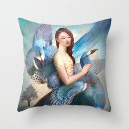 Sky Dancers Throw Pillow