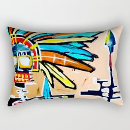 Indian Heart Rectangular Pillow
