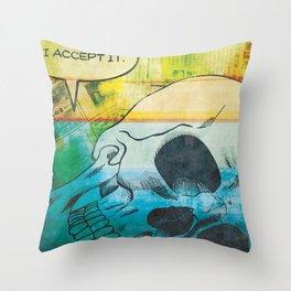 Acceptance Throw Pillow