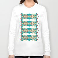 boho Long Sleeve T-shirts featuring Boho Inspiration by Sonia Marazia