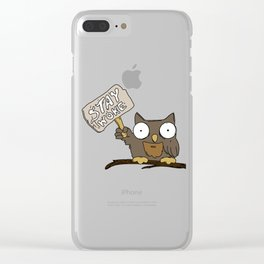 Stay Woke Clear iPhone Case