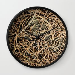Ground Cover Wall Clock