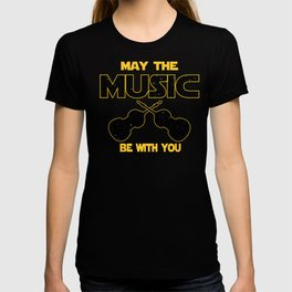Contrabass May The Music Be With You T-shirt