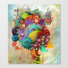 Flute Fruit Canvas Print