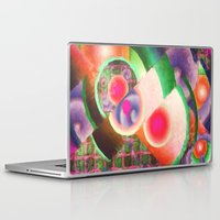 funky Laptop & iPad Skins featuring Funky by Joel Olives