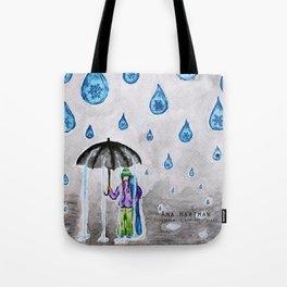 Raining Snow by Ama Hartman  Tote Bag