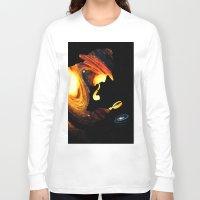 sherlock holmes Long Sleeve T-shirts featuring Sherlock Holmes  by nicebleed