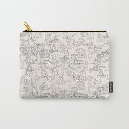 Yoga Manuscript Carry-All Pouch