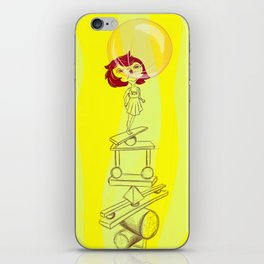 Dreaming is good for you iPhone Skin