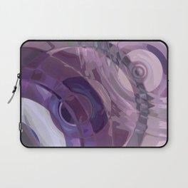 Purple Ripples Laptop Sleeve