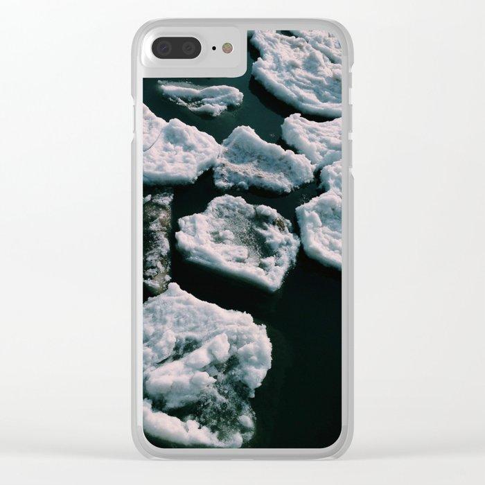 Adrift Clear iPhone Case