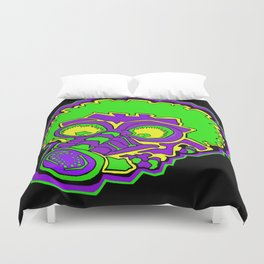 Other Worlds: Gas Masked Duvet Cover