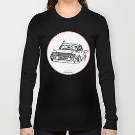 Crazy Car Art 0224 Long Sleeve T-shirt