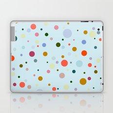 Blue Confetti Laptop & iPad Skin