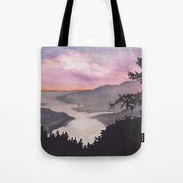 Weekend watercolor Tote Bag