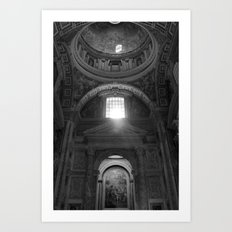 Vatican View Art Print